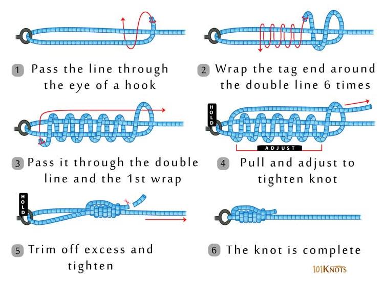 How to Tie San Diego Jam Knot